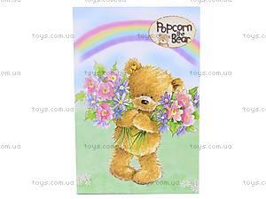 Блокнот Popcorn Bear, 48 листов,