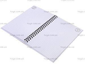 Блокнот с пластовой обложкой, 80 листов, MU14-225K, фото