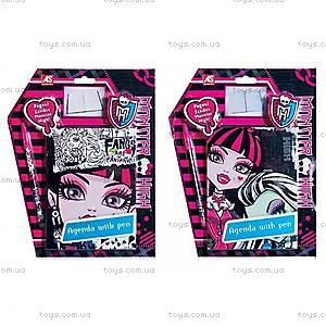 Блокнот с ручкой Monster High, 1027-23521