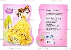 Фигурный блокнот Princess, 60 листов, P13-223K