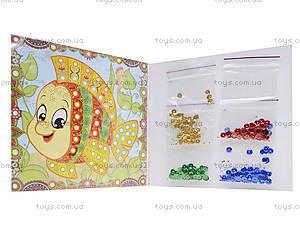 Розовая блестящая мозаика для детей, 5892, фото