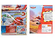 Блестящая мозаика «Дисней» с самолетиками, 5557, фото