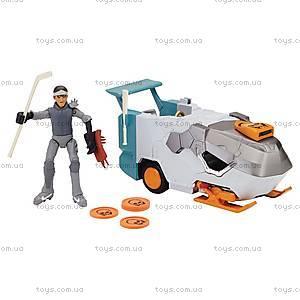 Транспорт-трансформер с фигуркой Кейси Джонс серии «Черепашки-ниндзя», 94265, купить
