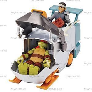 Транспорт-трансформер с фигуркой Кейси Джонс серии «Черепашки-ниндзя», 94265, отзывы