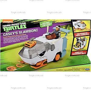 Транспорт-трансформер с фигуркой Кейси Джонс серии «Черепашки-ниндзя», 94265, игрушки