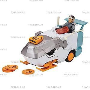 Транспорт-трансформер с фигуркой Кейси Джонс серии «Черепашки-ниндзя», 94265, детские игрушки