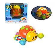 Божья коровка PLAY SMART, музыкальная, 7580, детские игрушки