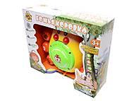 Божья коровка «У тетушки Совы», EH80003R, игрушки