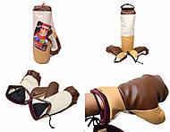 Боксерская груша с рукавицами, средняя, 33366, toys.com.ua