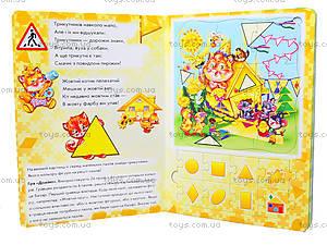 Большая книга пазлов «Цвет и форма», А415004У, цена
