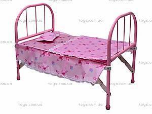 Большая кроватка для куклы, 6868