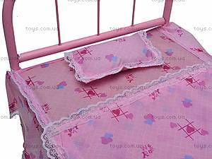 Большая кроватка для куклы, 6868, цена