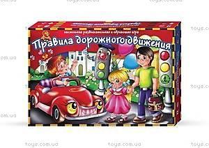 Большая настольная игра «Правила дорожного движения», DT G11