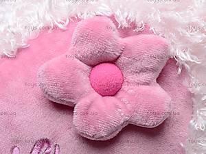 Большая подушка «Сердце-цветок», К103СЕ, цена