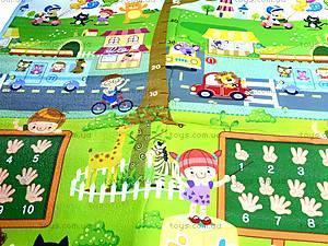 Большой детский коврик, 19541E, детские игрушки