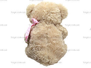 Большой мягкий медведь, 639680 серый, отзывы