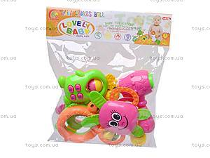 Большой набор детских погремушек, 860-34, детские игрушки