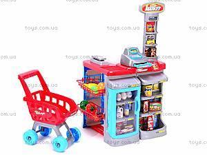 Большой набор для игры в супермаркет, 668A, фото