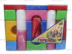 Большой набор кубиков «Теремок», , фото