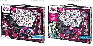 Большой набор магических тату Monster High, 1080-04312