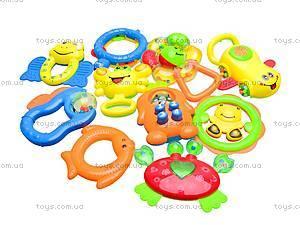 Большой набор погремушек для детей, 628-58