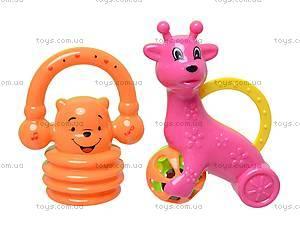 Большой набор развивающих погремушек, 870-8, детские игрушки