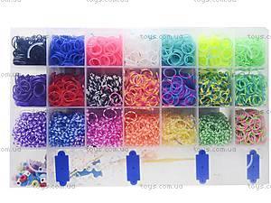 Большой набор резинок для плетения, 4200 штук, 2537-100, детский