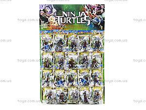 Большой набор игровых фигурок «Черепашки-ниндзя», 09214, цена