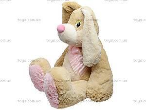 Большой плюшевый заяц «Франя», К029В, фото