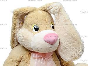 Большой плюшевый заяц «Франя», К029В, игрушки