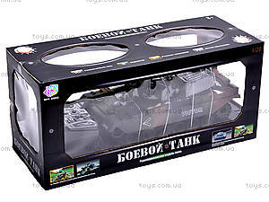Большой радиоуправляемый танк, 9362-13/14, игрушки