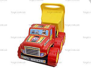 Большой игрушечный самосвал «Технок», 4203, фото