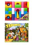 Большие кубики «Теремок», , фото