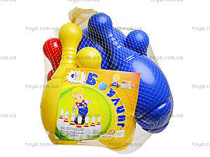 Игрушечный боулинг «6 кеглей», MG-070, игрушки
