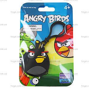 Брелок Angry Birds «Черная Птичка», 91949
