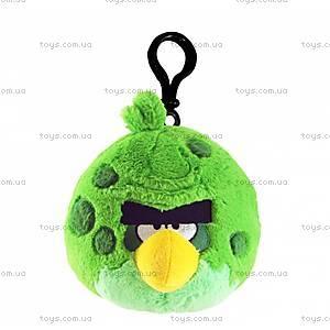 Брелок мягкий Angry Birds Space «Зеленая Птичка», 92738