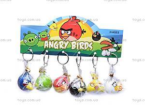 Брелоки Angry Birds, 6 штук, 5166, цена