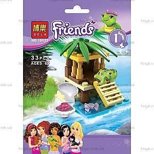 Конструктор Friends «Маленький оазис для черепахи», 10122