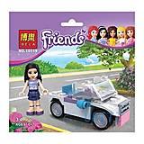 Конструктор Friends «Спортивный автомобиль Эмми», 10119, отзывы