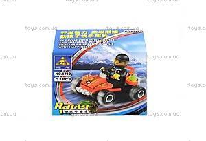 Детский конструктор «Квадроцикл», 31 деталь, 6712