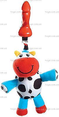 Погремушка для новорожденных «Коровка Хлоя», 1108000458