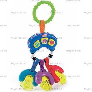 Погремушка-прорезыватель «Музыкальные ключи», K7188, фото