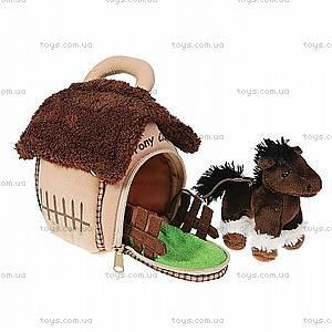 Домик-сумка с лошадкой, 21-912080