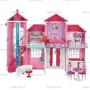 Кукольный дом Barbie «Малибу», BJP34, фото