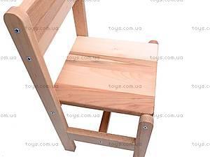 Буковый стул для детей, , фото