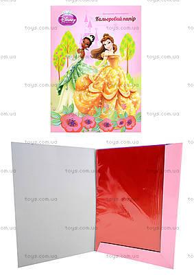 Бумага цветная двухстороняя А4 Princess, P13-250K