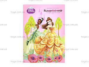 Бумага цветная двухстороняя А4 Princess, P13-250K, цена
