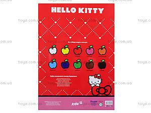 Бумага цветная бархатная Hello Kitty, HK13-251K, купить