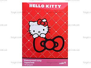 Бумага цветная бархатная Hello Kitty, HK13-251K