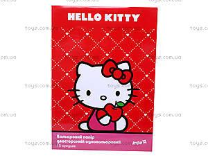 Бумага цветная двусторонняя Hello Kitty, HK13-250K